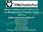 Measuring Wraparound Fidelity using the Wraparound Fidelity Index  WFI 4.0