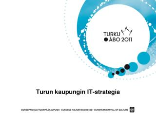 Turun kaupungin IT-strategia
