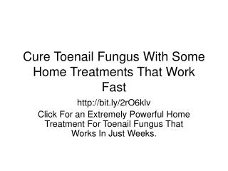 Simple Home Remedies for Toenail Fungus That Show Results Quickly