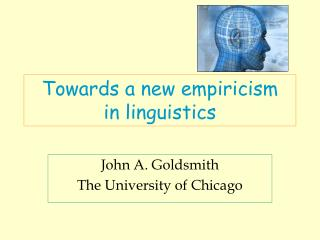 Towards a new empiricism in linguistics