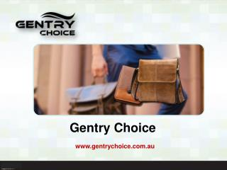 Gentry choice