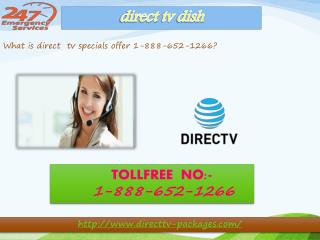Dial 1-888-652-1266 | directv deals More entertainment on more devices