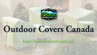 Outdoor Patio Set Covers - Outdoor Covers Canada