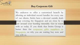 Buy Corporate Gift
