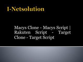 Target Clone - Target Script