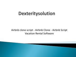 Airbnb Clone | Airbnb Script | Vacation Rental Software