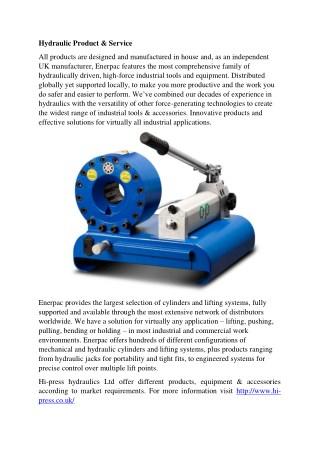 hydrualic product & service