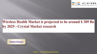 Wireless Health Market Key Manufacturing Base and Forecast by 2016 - 2025