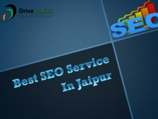 Best SEO Service In Jaipur | Drive Digital