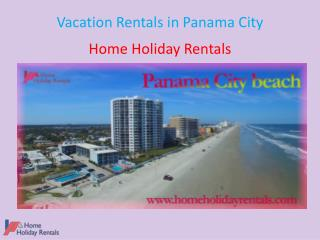 Vacation Rentals in Panama City