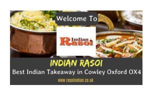 Indian Rasoi | Best Indian Takeaway in Cowley Oxford OX4