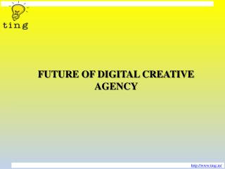 FUTURE OF DIGITAL CREATIVE AGENCY