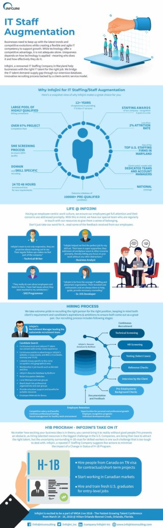 IT Staffing Company | Staff Augmentation | Infographics
