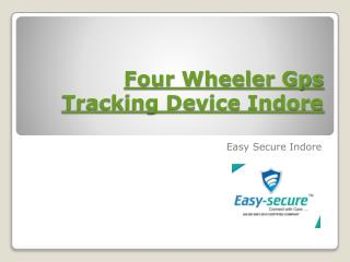 Four Wheeler Gps Tracking Device Indore