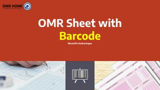OMR Sheet with Barcode - OMR Home