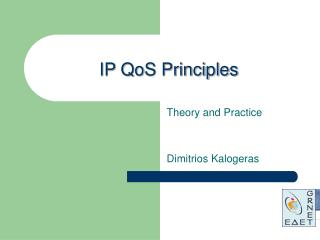 IP QoS Principles