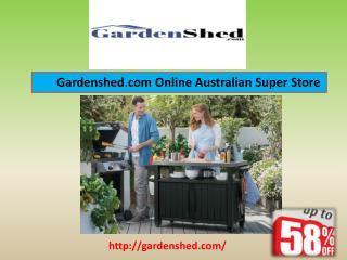 Timber Sheds, Garden Sheds, Absco Sheds Online Sale.