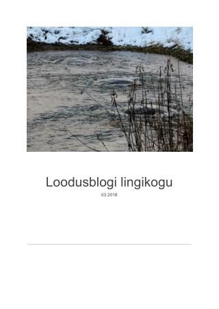 Loodusblogi 8