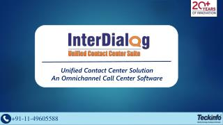 Contact Center Solutions - Omnichannel Call Center Software