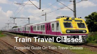 Train Travel Classes