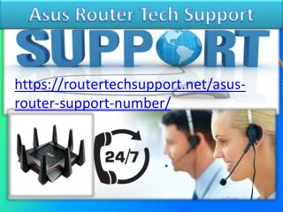 Asus Router Tech Support