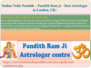 Famous Indian Vedic Astrologer In London , UK- Best Vedic Astrology
