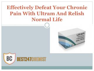 Treat Long Time Annoying Pain With Ultram