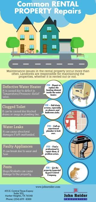 Common Rental Property Repairs