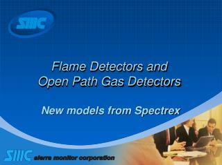 Flame Detectors and  Open Path Gas Detectors