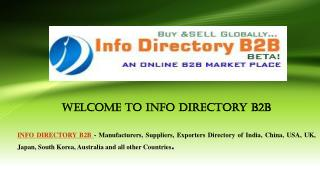 Wire Netting, Wire and Wire Products - INFO DIRECTORY B2B