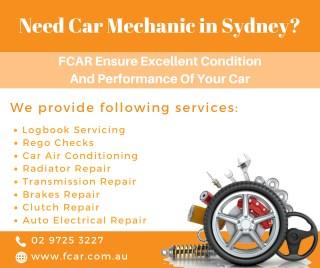 Get Car Mechanic in Sydney for Car Repairs- FCAR
