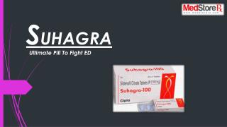 Suhagra -The Cure For Mens Erectile Dysfunction