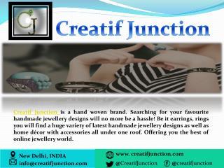 Handmade Jewellery  - Buy Latest Handmade Jewelry Online in India
