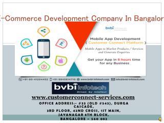 E-Commerce Development Company In Bangalore,M-Commerce Development Company In Bangalore