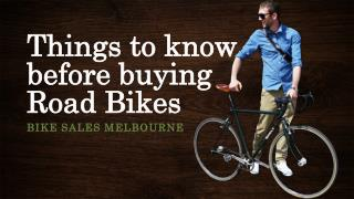 Things to know before buying Road Bikes