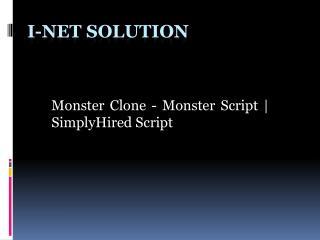 Monster Script   SimplyHired Script