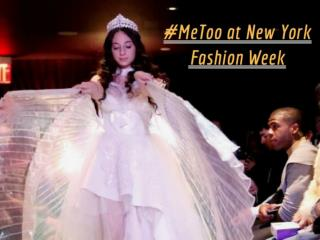 #MeToo at New York Fashion Week