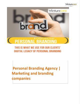 Personal Branding Agency | Marketing and branding companies