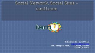 Social Network, Social Sites – iamU.com