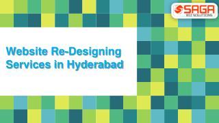 Website Redesign in Hyderabad, Website Redesigning Company in Hyderabad – Saga Bizsolutions