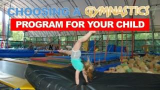Choosing a Gymnastics Program for Your Child