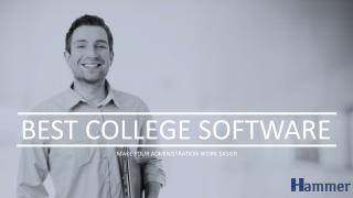 Fee Management Software for College