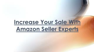 Amazon Seller Experts - Increase Your Product Sale