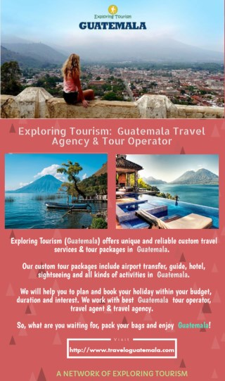 Guatemala tours | Guatemala tour packages