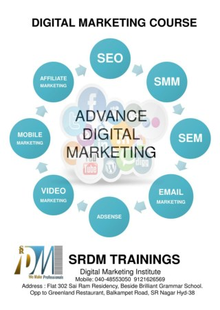 Best Digital Marketing Institute In Hyderabad SRDM Trainings