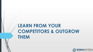 Learn From Your Competitors & Outgrow Them