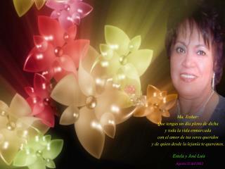 Cumpleaños de Maria Esther