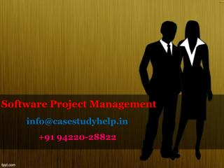 Write a case study of a Software Project Management System for an automated education system which contains the requirem