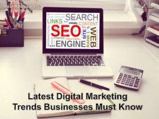 Latest Digital Marketing Trends Businesses Must Know