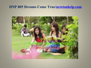 DNP 805 Dreams Come True /newtonhelp.com